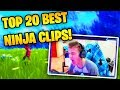 TOP 20 MOST VIEWED NINJA CLIPS OF ALL TIME (Fortnite) | Fortnite Battle Royale