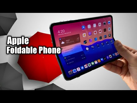 Apple Iphone 12 Flip Hands On Apple Foldable Phone Hands On Youtube