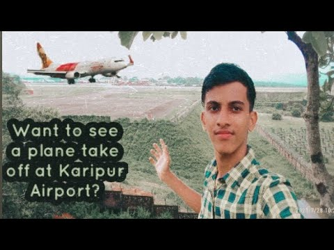 Download Want to see the plane take off at Karipur Airport?