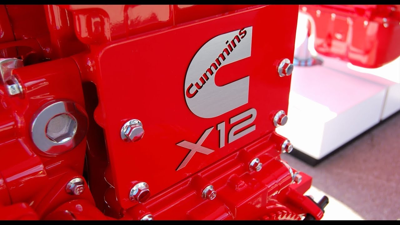 Birth of the X12, new Cummins Heavy Duty engine