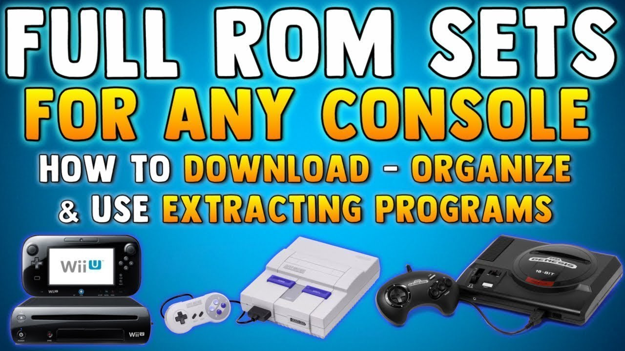 HOW TO GET ROM SETS (No Intro Roms) How To Download Roms (SNES, NES, Sega,  Gamecube & MORE)