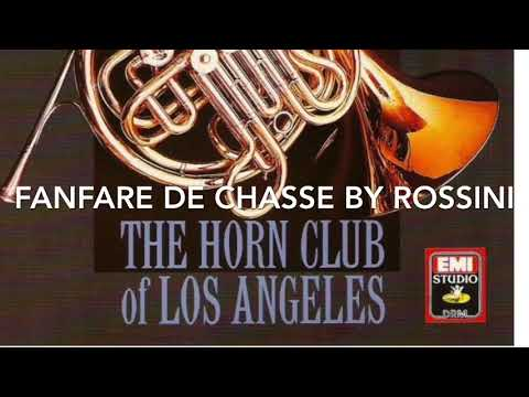 Track 21 From Horns!  Fanfare De Chasse By Rossini