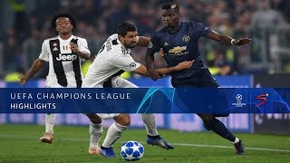 UEFA Champions League | Juventus vs Man United | Highlights