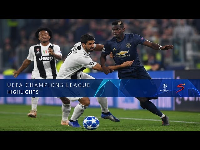 UEFA Champions League | Juventus vs Man United | Highlights