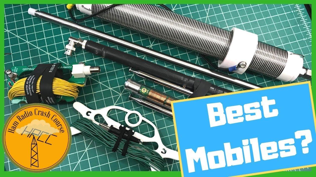 Lets Talk Mobile Portable Vertical Ham Radio Antennas For HF