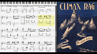 Climax Rag by James Scott (1914, Ragtime piano)