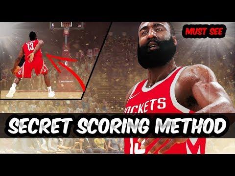 DESTROY EVERYONE - Secret Scoring Technique NBA 2K19  - Hold Off Defender (HD).