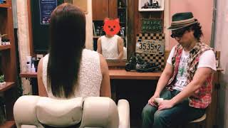 美髪トリートメント後のインタビュー 40代女性