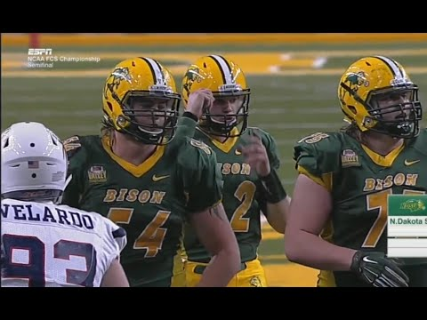 North Dakota State vs Richmond - Semifinals FCS football 2015