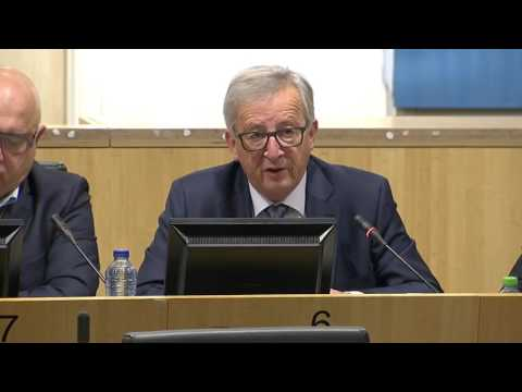 Speech by Jean-Claude Juncker at European Trade Union Confed