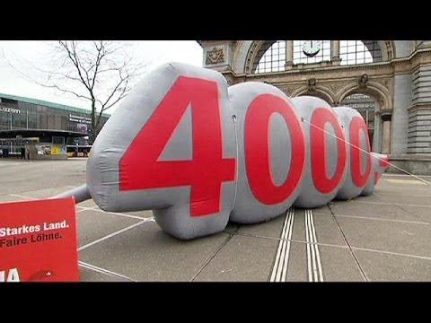 Suisse : Un Salaire Minimum De 3300 Euros Par Mois ?