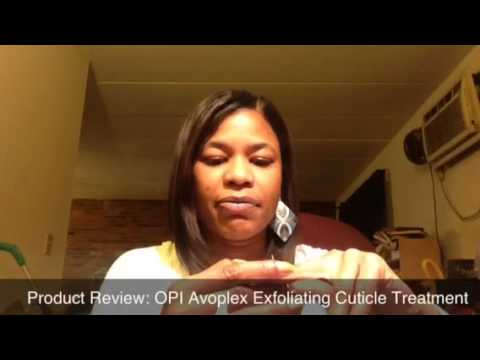 OPI Product Review OPI Avoplex Cuticle Treatment