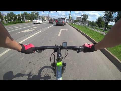 Просто катаюсь по городу на велосипеде / Почти без монтажа