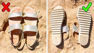 12 пляжных хитростей, которые спасут ваш отдых