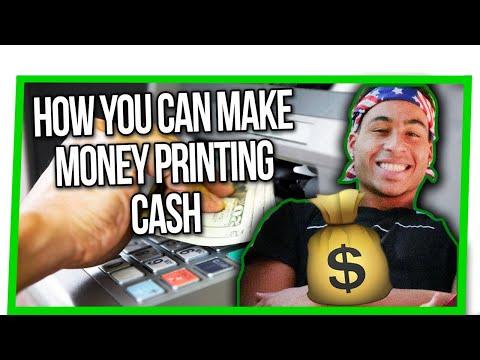 ATM FREE MONEY TRICK (NEW $5K/mo Passive Income Side Hustle) PRINTING CASH