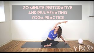 20 Minute Restorative and Rejuvenating Yoga Practice