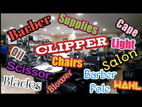 Barber And Salon Supplies