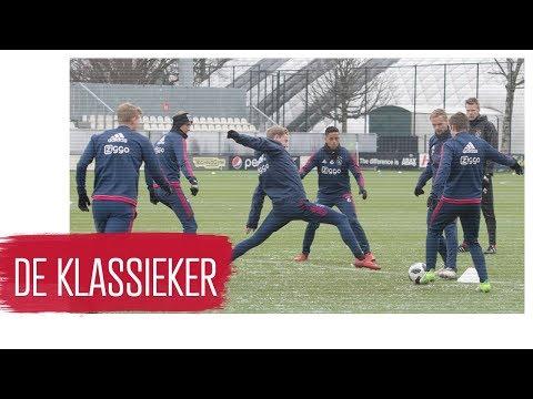 Ajax vol goede moed richting Klassieker