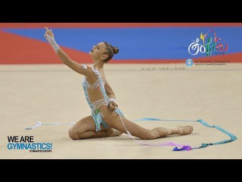 2018 Rhythmic Worlds, Sofia (BUL) – HIGHLIGHTS - Clubs+Ribbon Finals - We Are Gymnastics !