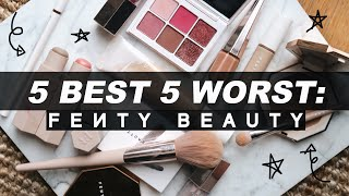5 BEST & 5 WORST: FENTY BEAUTY | Jamie Paige
