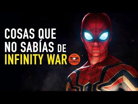 Curiosidades Infinity War
