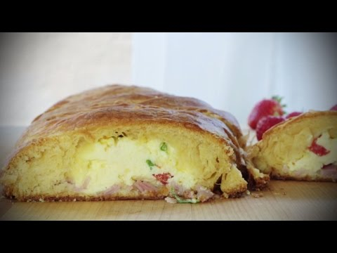 How to Make Scrambled Egg Brunch Bread | Brunch Recipes | Allrecipes.com