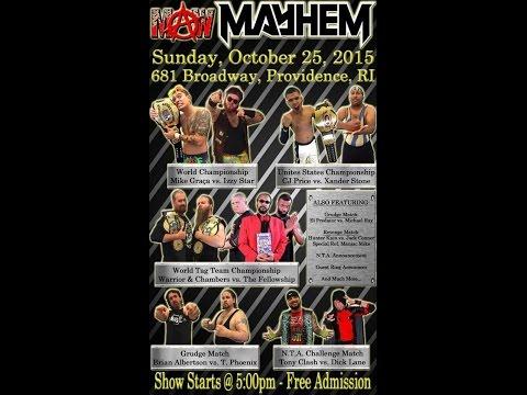 "MAW - ""Mayhem"" - 10/25/15"