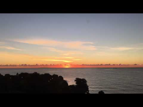 Sunrise at Promontory Point, Hyde Park, Chicago