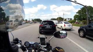 Bicycle Lane Splitting lol