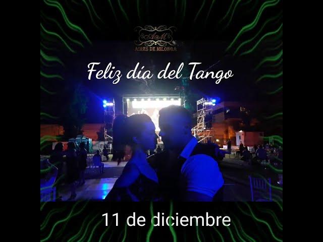 Baile social de tango, Antonela Mendez, Raul Moure, orquesta en vivo. Milonga de Escobar