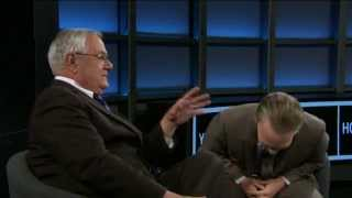 Bill Maher with Barney Frank: Mitt Romney The Most Intellectually Dishonest Politician (2/26/12)