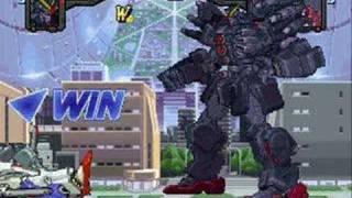 Gundam War -- Psycho MKIII VS. Zaku II(S) and Double Zeta