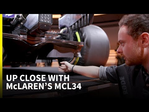 An unprecedented up-close look at a 2019 F1 car: McLaren MCL34 technical analysis
