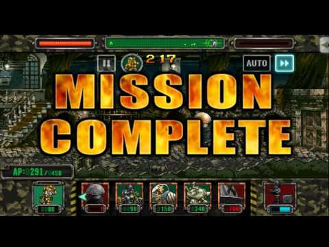 [HD]Metal slug ATTACK. P.O.W!  P.O.W  RESCUE!!! (1.40.0 ver)