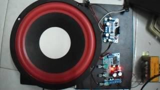 Test mạch 1.0: Pre-amplifier NE5532 + amplifier Mono LM3886