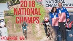 USA Cycling Mountain Bike National Championships 2018 (Downhill) Snowshoe Bike Park