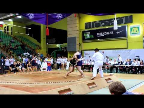 Чемпионат мира по сумо Гонконг2012