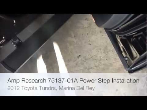 2011 Toyota Tundra Amp Research Power Step Installation