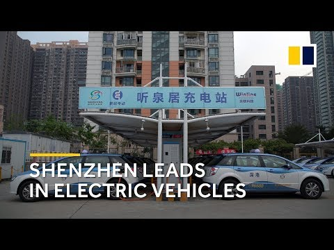 Shenzhen: the world's pioneer in electric vehicles