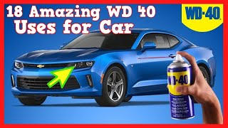 18 Amazing WD 40 Uses for Your Car, Truck and Automobile