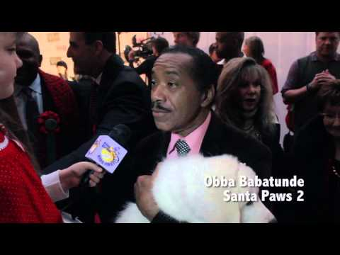 2012 Hollywood Christmas Parade Red Carpet with Morgan