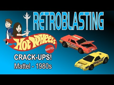 Hot Wheels Crack-Ups 1980s Mattel Vintage Toy Review