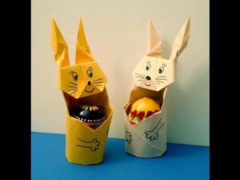 Оригами заяц сделай сам