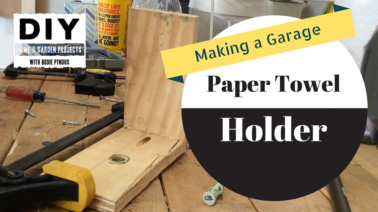 Paper Towel Holder - YouTube