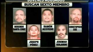 """Acusación Contra Cinco Miembros de la Pandilla """"Calle 18â"""