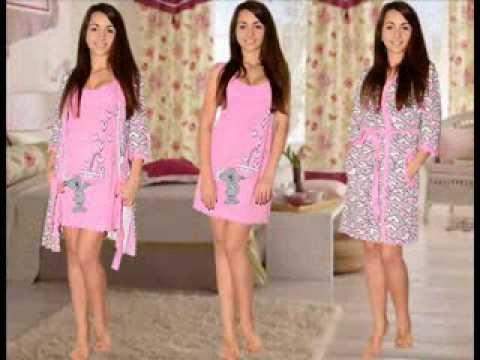 L-shop.ua Домашняя одежда. Комплекты с халатом