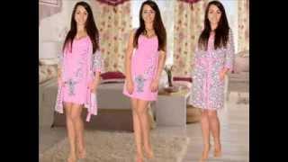 L-shop.ua Домашняя одежда. Комплекты с халатом(, 2014-02-05T13:22:11.000Z)
