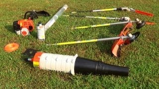 Stihl KM130R Kombi System 4 Mix Gas Trimmer and Attachments thumbnail