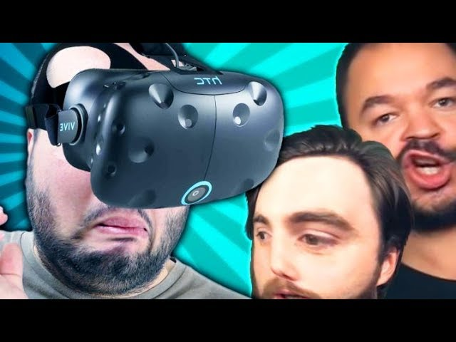 LA TEAM QUI FAIT PEUR (Jeux VR feat.Jacobin)