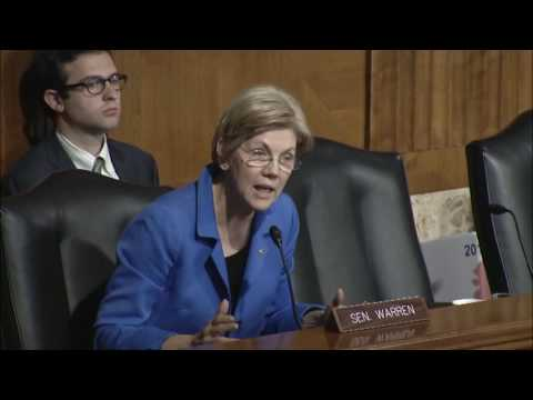 Senator Elizabeth Warren  Energy & Natural Resources Committee Hearing on the Stream Protection Rule
